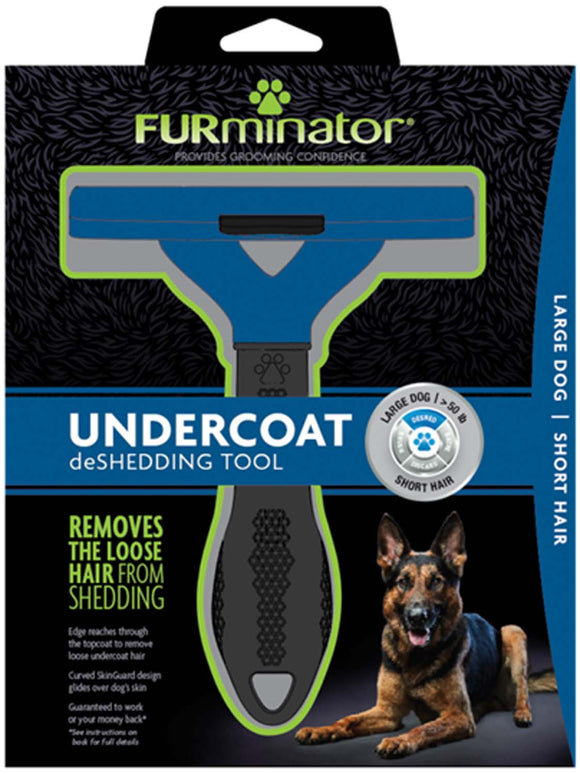 Furminator Undercoat Deshedding Tool for Large Dog Short Hair