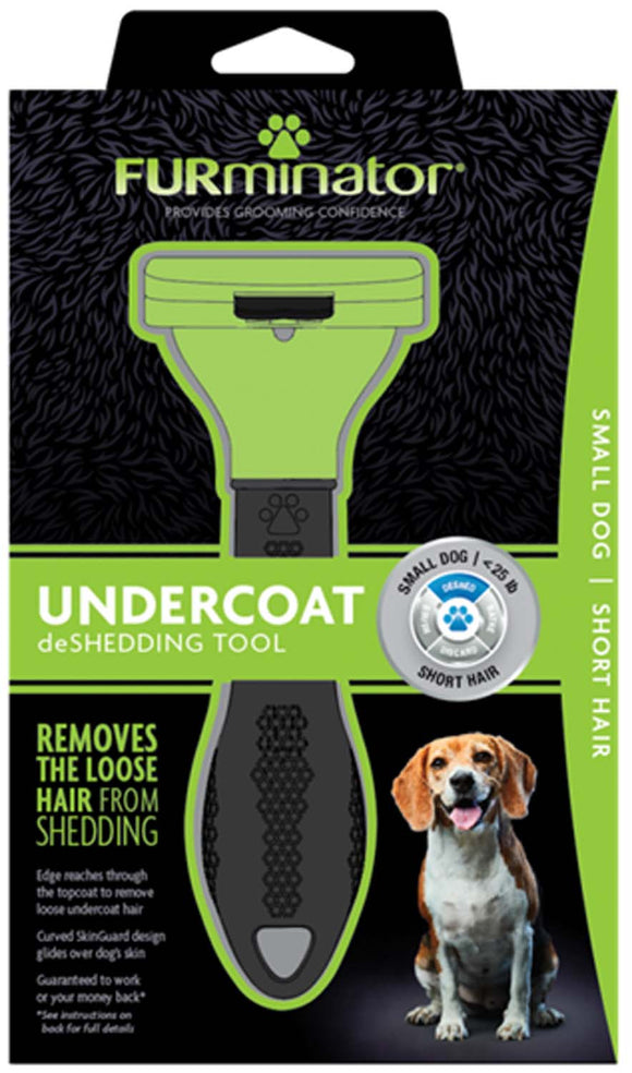 Furminator Undercoat Deshedding Tool for Small Dog Short Hair