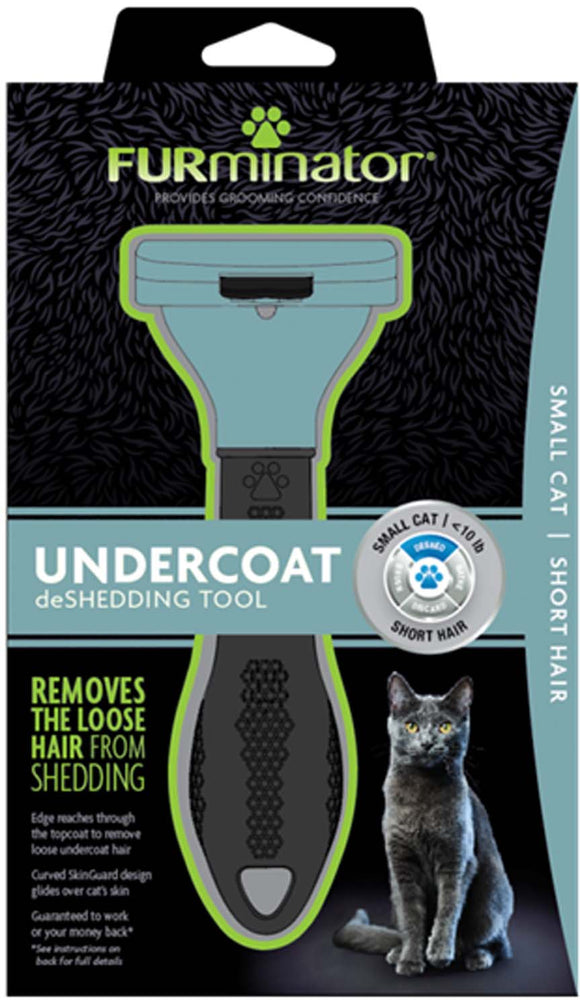 Furminator Undercoat Deshedding Tool Small Cat Short Hair
