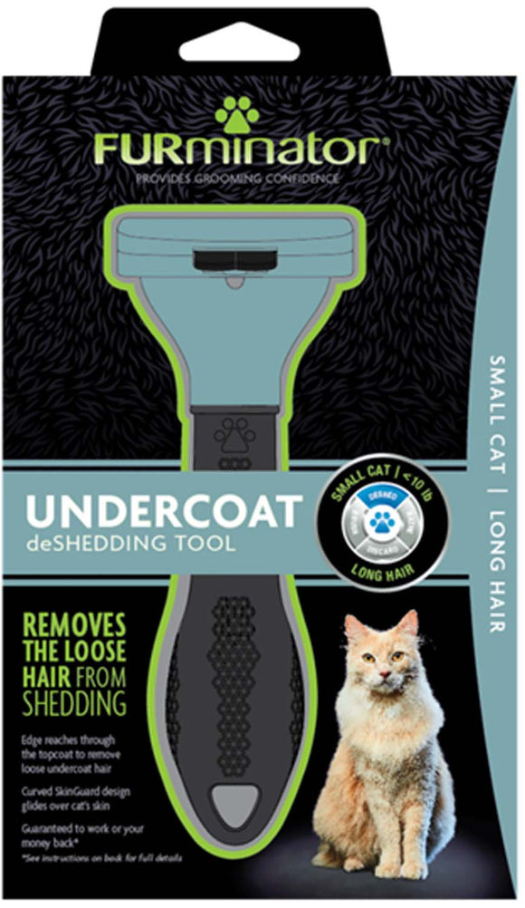 Furminator Undercoat Deshedding Tool for Small Cat Long Hair