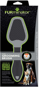 Furminator Dual Grooming Brush for All Cat & Dog