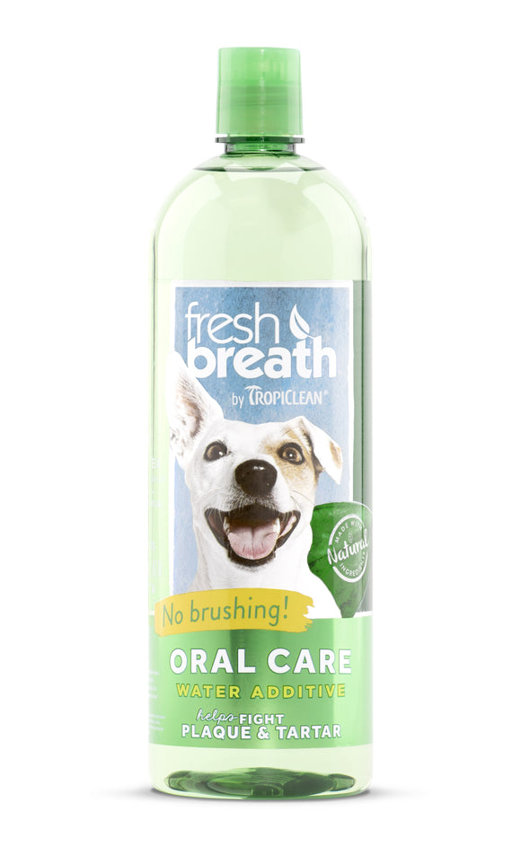 Tropiclean Oral Care Water Additive for Dog 33 Oz