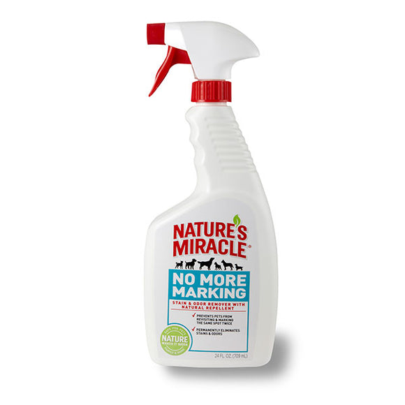 Nature's Miracle No More Marking Pet Stain & Odor Removal for Dog 24 Oz Spray