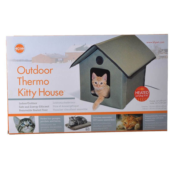 K & H Outdoor Kitty House - Heated (3993)