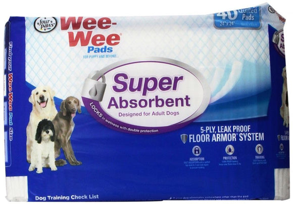 Four Paws Wee Wee Pads - Super Absorbent (100517146)