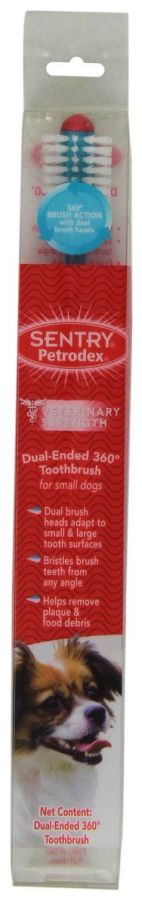 Petrodex Dental Kit for Adult Dogs - Poultry Fresh Mint Flavor (51075)