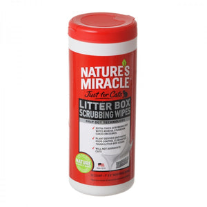 Nature's Miracle Just For Cats Litter Box Wipes (NM-5574)