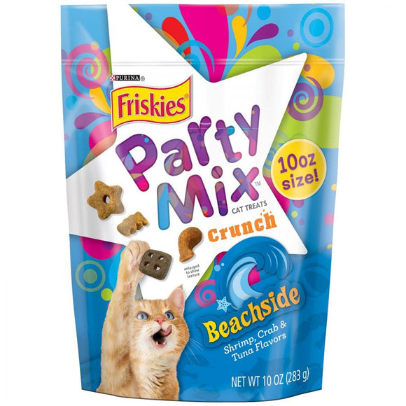 Friskies Party Mix Beachside Crunch Cat Treats (NPU29196)