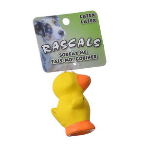 Rascals Latex Duck Dog Toy (83012 R NCLDOG)