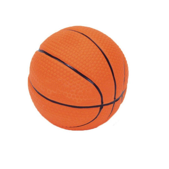 Rascals Latex Basketball Dog Toy (83020 R NCLDOG)