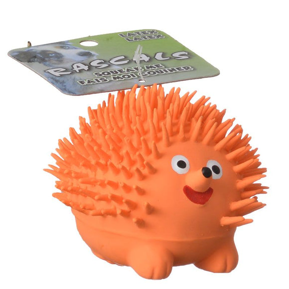 Rascals Latex Hedgehog Dog Toy (83028 R NCLDOG)