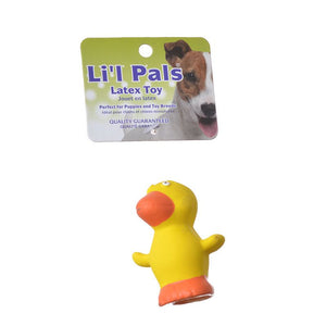 Lil Pals Latex Duck Dog Toy (83205 DUC)