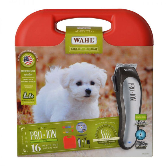 Wahl Pro Ion Lithium Rechargeable Animal Clipper Kit (9705)