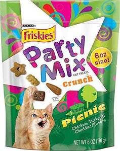 Friskies Party Mix Picnic Crunchy Cat Treats (29271)