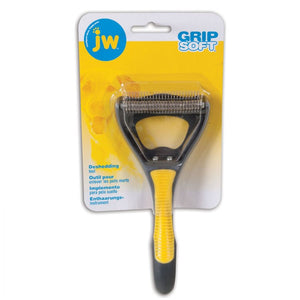 JW GripSoft Dog Deshedding Tool (65048)