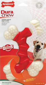 Nylabone Dura Chew Double Bone - Bacon Flavor (NBB505P)