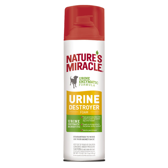 Nature's Miracle Urine Destroyer - Foam for Dog 17.5 Oz