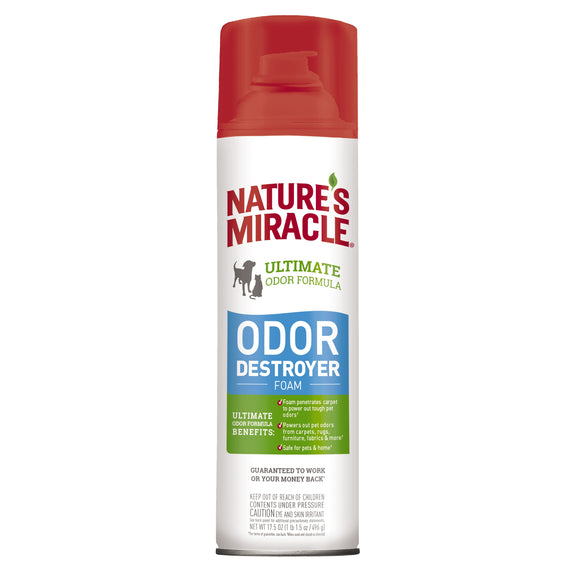 Nature's Miracle Ultimate Odor Destroyer Formula for Dog 17.5 Oz