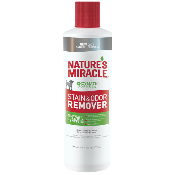 Nature's Miracle Stain & Odor Remover for Dog 16 Oz