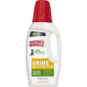 Nature's Miracle Urine Destroyer Pour for Cat 32 Oz