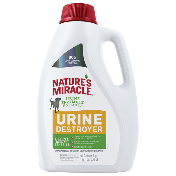 Nature's Miracle Urine Destroyer Pour for Dog 128 Oz