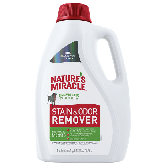 Nature's Miracle Stain & Odor Remover Pour for Dog 128 Oz