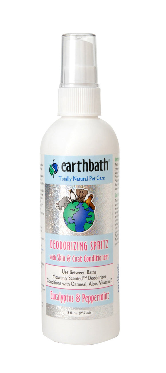 Earthbath Eucalyptus & Peppermint Stress Relief Spritz for Dog 8 Oz