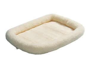 QuietTime Deluxe Fleece Bolster Pet Bed 24 Inch