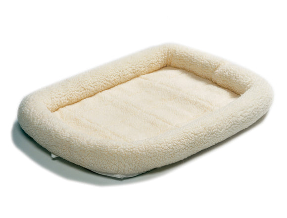 QuietTime Deluxe Fleece Bolster Pet Bed 30 Inch