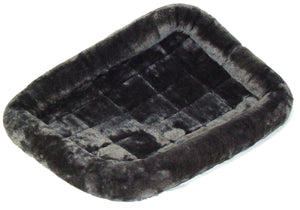 QuietTime Deluxe Bolster Pet Bed Gray Color 30 Inch