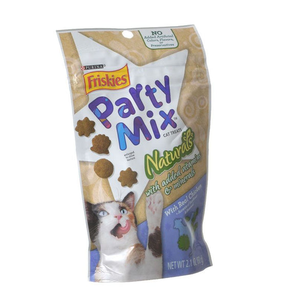 Friskies Party Mix Naturals Cat Treats - Real Chicken (NPU29425)