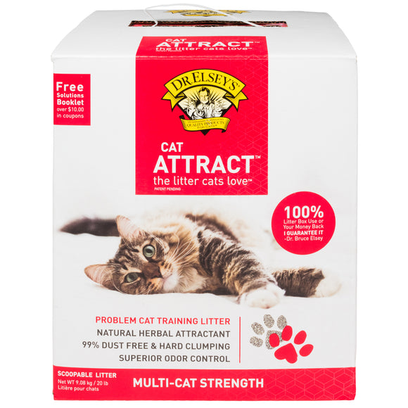 Dr. Elsey's Cat Attract Cat Litter 20 Lbs