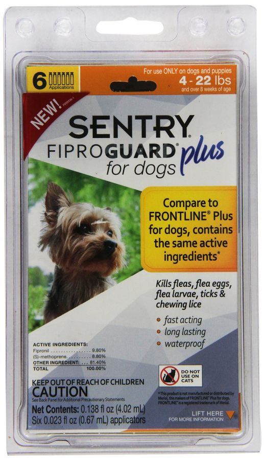 Sentry Fiproguard Plus IGR for Dogs & Puppies (3165)