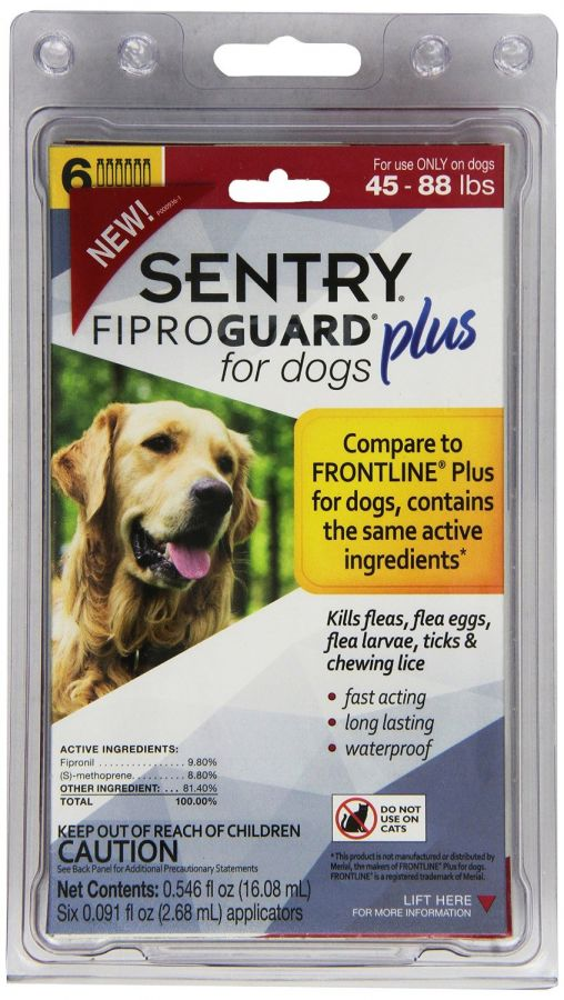 Sentry Fiproguard Plus IGR for Dogs & Puppies (3167)