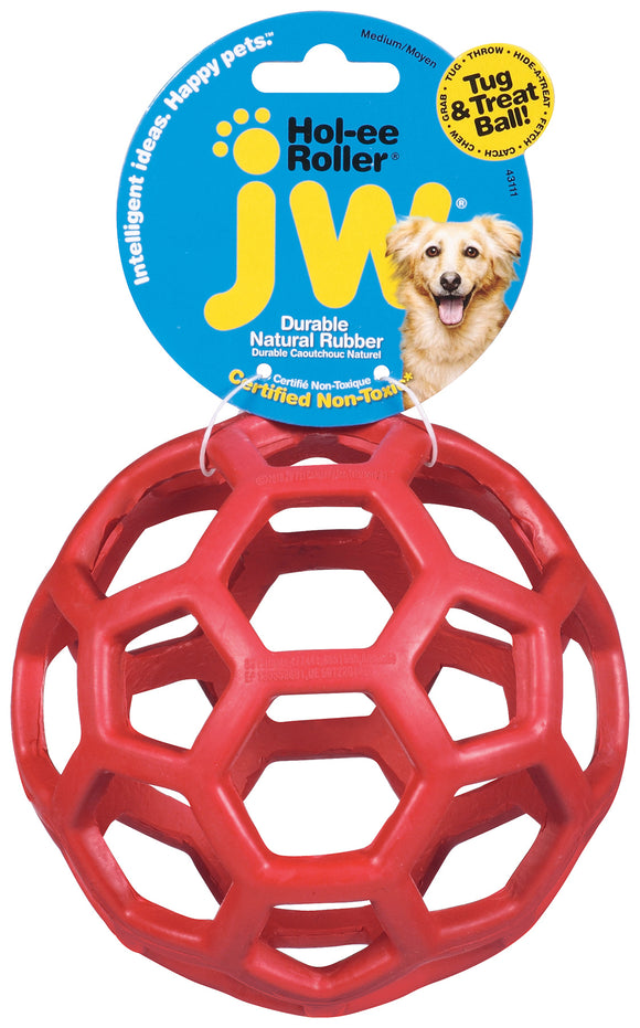JW Hol-ee Roller Dog Toys Color Medium