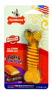 Nylabone Flavor Frenzy Dura Chew Bone - Philly Cheesesteak Flavor (NFCS102P)