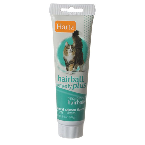 Hartz Hairball Remedy Plus Cat & Kitten Paste - Natural Salmon Flavor (95009)