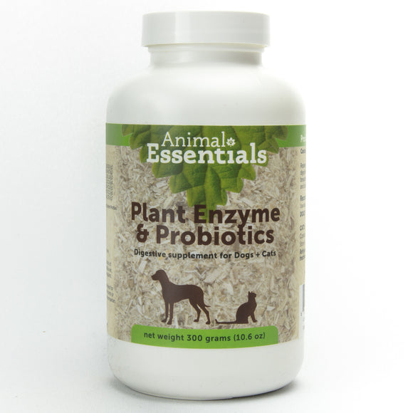 Animal Essentials Plant Enzyme & Probiotics Digestive Supplement for Cat & Dog 300 Gm