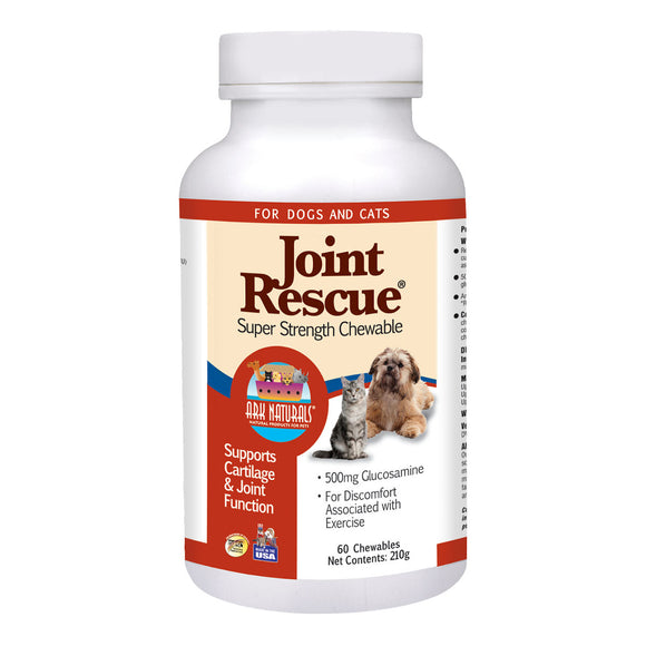 Ark Naturals Joint Rescue Super Strength Chewsables for Cat & Dog 60 Count