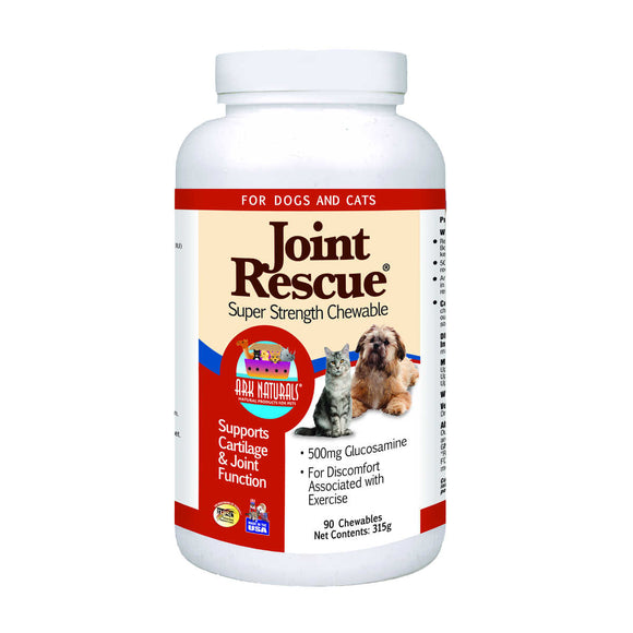 Ark Naturals Joint Rescue Super Strength Chewsables for Cat & Dog 90 Count