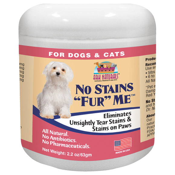 Ark Naturals No Stains Fur Me For Cat And Dog 2.2 Oz