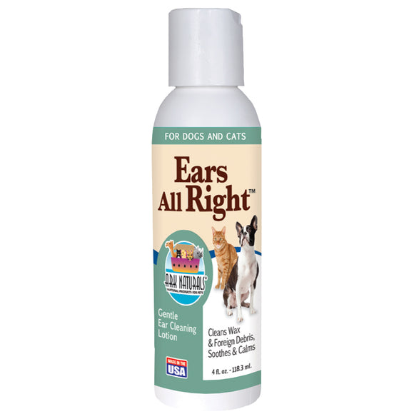 Ark Naturals Ears All Right For Cat And Dog 4 Oz