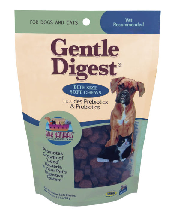 Ark Naturals Gentle Digest Soft Chews Dog Treat 120 Count