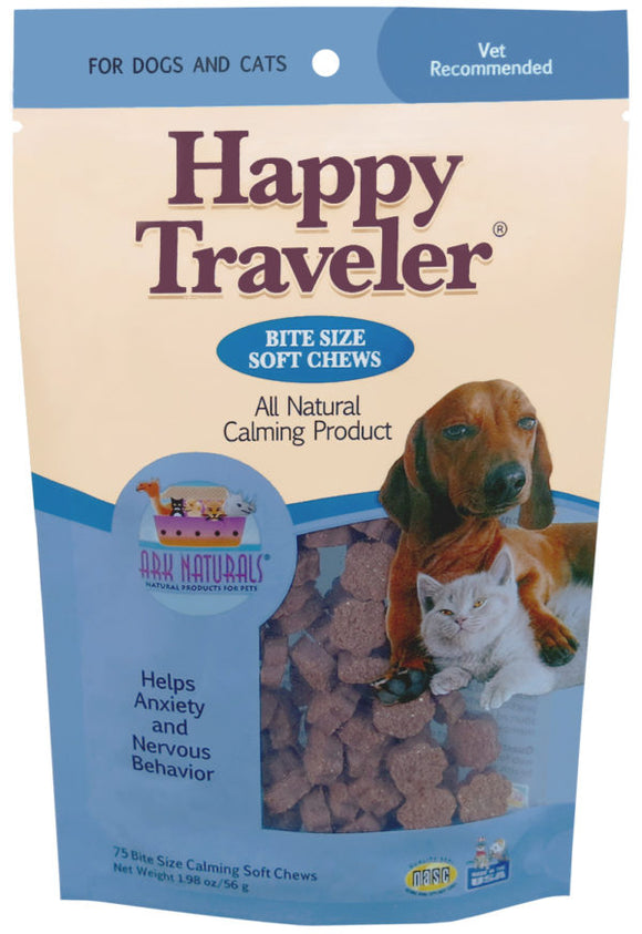 Ark Naturals Happy Traveler Soft Chews For Dog And Cat 8 Oz