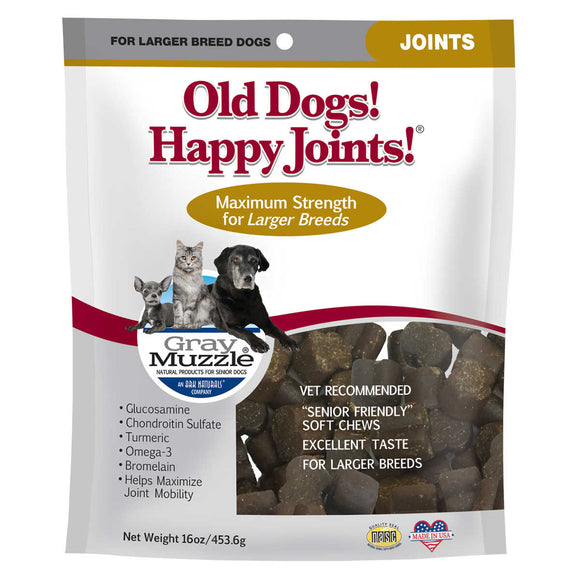 Ark Naturals Old Dog Happy Joints Max Stregth for Large Breeds Dog Large