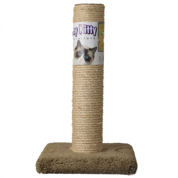 Classy Kitty Cat Sisal Scratching Post (49005)