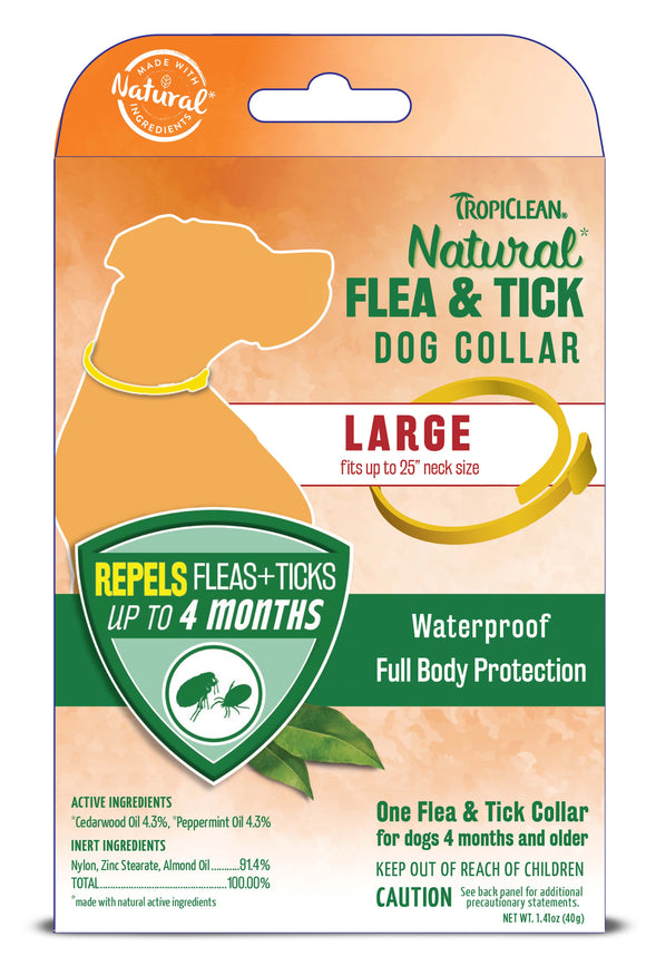 Tropiclean Natural Flea & Tick Collar for Dog