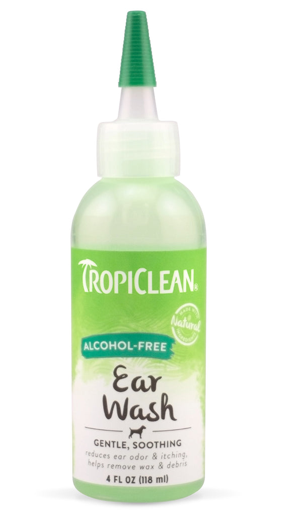 Tropiclean Alcohol-Free Ear Wash 4 Oz