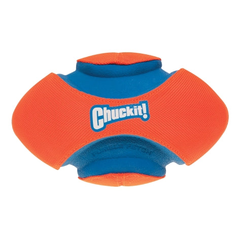 Chuckit! Fumble Fetch Dog Toy Orange/Blue Color Small