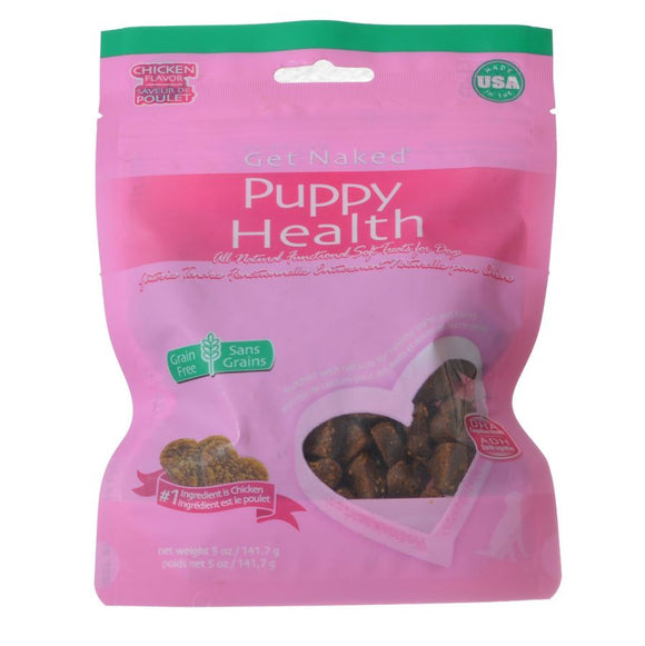 Get Naked Puppy Health Soft Dog Treats - Chicken Flavor (201578)